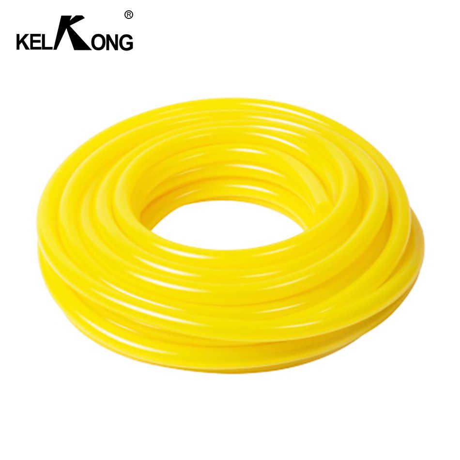 KELKONG 1 メートルオートバイバイクの燃料直径内径 3 ミリメートル * 5 ミリメートル 3 ミリメートル * 6 ミリメートル黄色燃料フィルターラインオイルパイプ燃料タンクのスペアパーツ