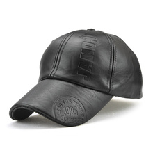 High Quality Men's Leather Baseball Cap