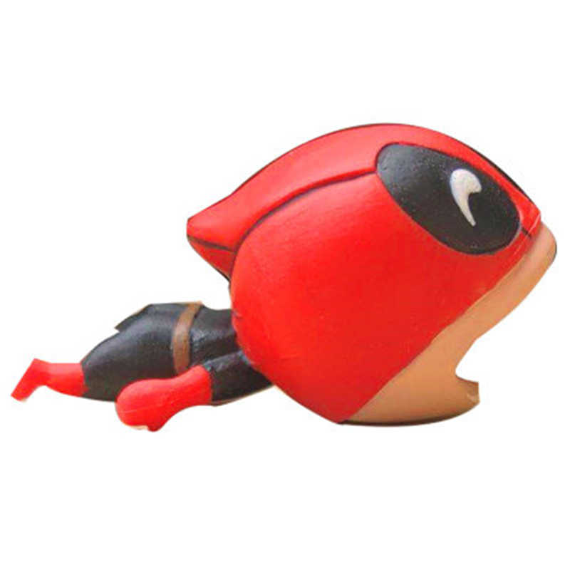 Deadpool brinquedos Cabo Cabo protetor mordida mordida Hulk spiderman brinquedos de super-heróis da marvel Avengers brinquedo mole Móvel diertjes kabel
