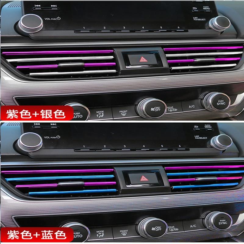 Apprehensive 10pcs Car Styling Air Vent Trim Chrome Moulding Strip For Cadillac Cts Srx Ats Lexus Rx Nx Gs Ct200h Gs300 Rx350 Rx300 Saab 9-3