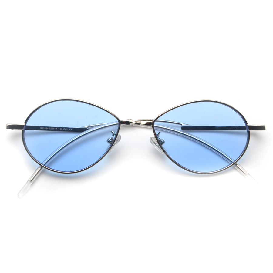7f2ffefb2c mimiyou Round Bend Leg Retro Women Eyeglasses Vintage Fashion Sun Glasses  Men 90 s Sunglasses 2018 oculos de sol feminino-in Sunglasses from Women s  ...
