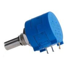OOTDTY 1PC 3590S-2-103L 10K Ohm Rotary Wirewound Precision Potentiometer Pot 10