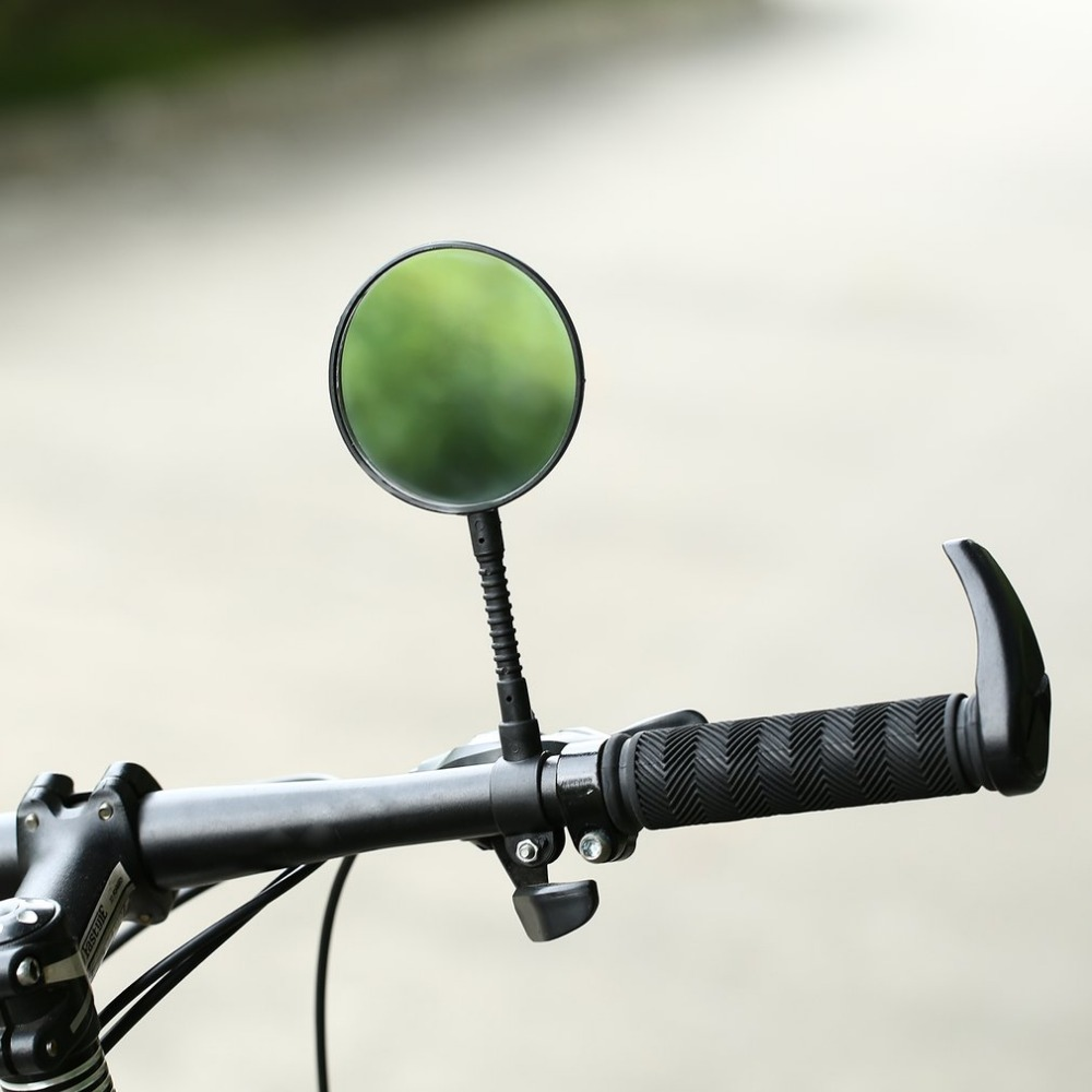 Bike Bicycle Handlebar Flexible Rear Back View Rearview Mirro/_ti