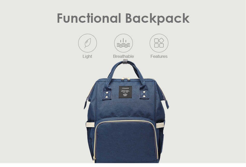 HTB16GGCSNTpK1RjSZR0q6zEwXXaH Nappy Backpack Bag Mummy Large Capacity Bag Baby Multi-function Waterproof Travel Diaper Bags For Baby Care Droshipping