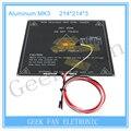 3D Peças Da Impressora MK3 Duplo Poder Aquecida + LED + Resistor + Cabo + 100 K ohm Termistores PCB Heatbed 3d0354