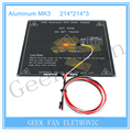 3D Printer Parts MK3 Dual Power Heated+LED+Resistor+Cable+100K ohm Thermistors PCB Heatbed  3d0354