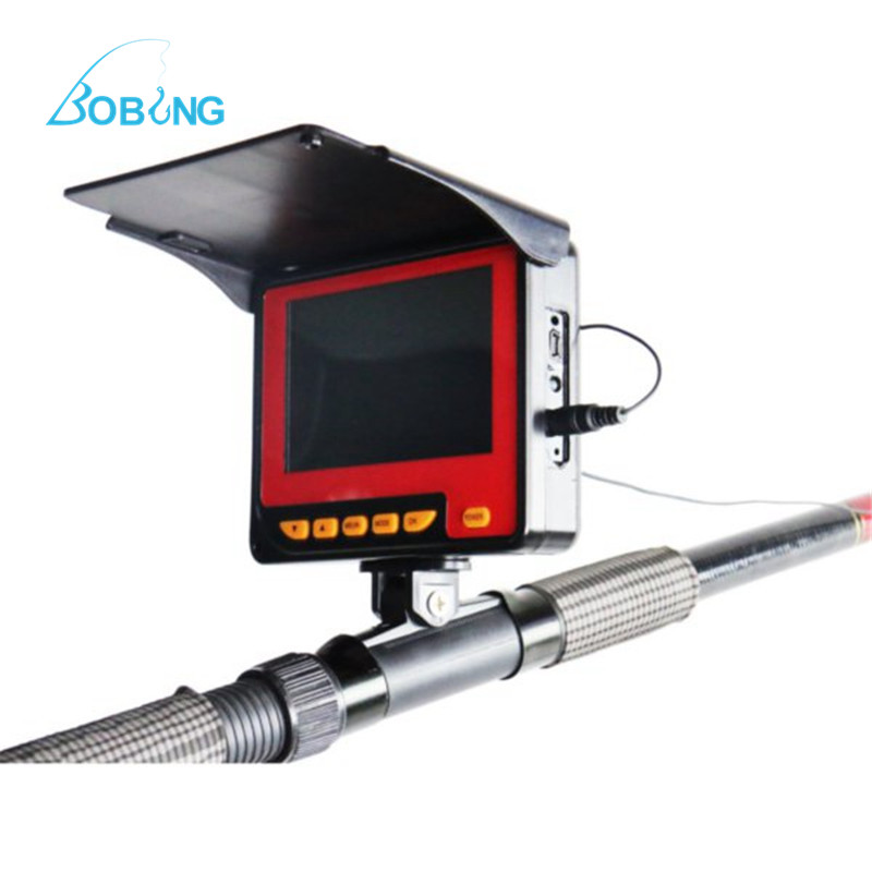 Fish Finder Visual Fishing Finders Underwater Fishing Camera Monitor System Display Detectors Rod Attachment italian visual phrase book