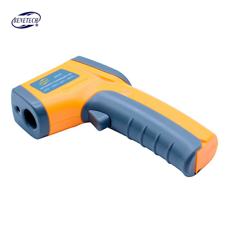 Infrared thermometer GS320 Digital Laser LCD Display Non-Contact IR Infrared Thermometer -50-360 Degree Auto Temperature Meter цена