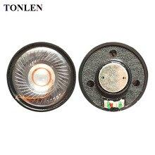 TONLEN 2PCS 50mm 24ohm Headpnone Speaker Horn DIY Portable Mobile Computer Headset Speakers HiFi Full Range Earphone