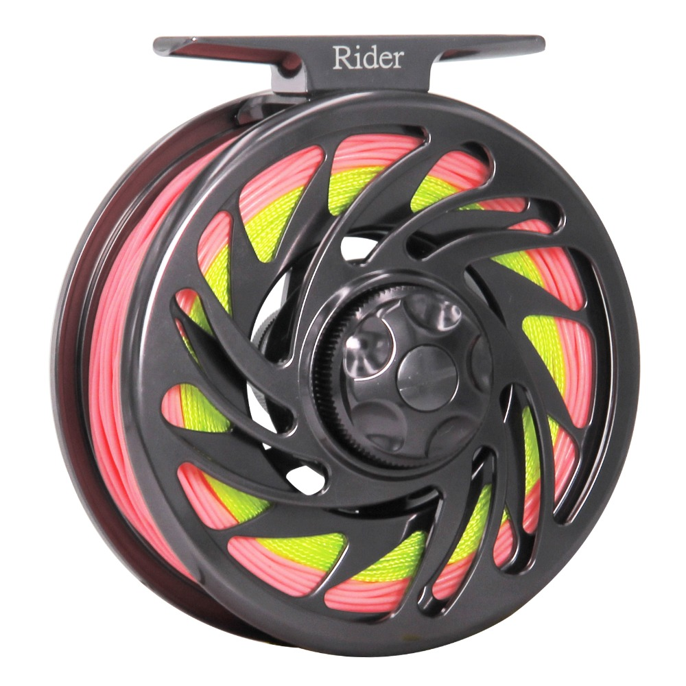 Super Strong Fly Reel Combo Carretilha De Pesca Adjustable Drag CNC Machined Aluminum Fishing Reel Fly Fishing Tackle