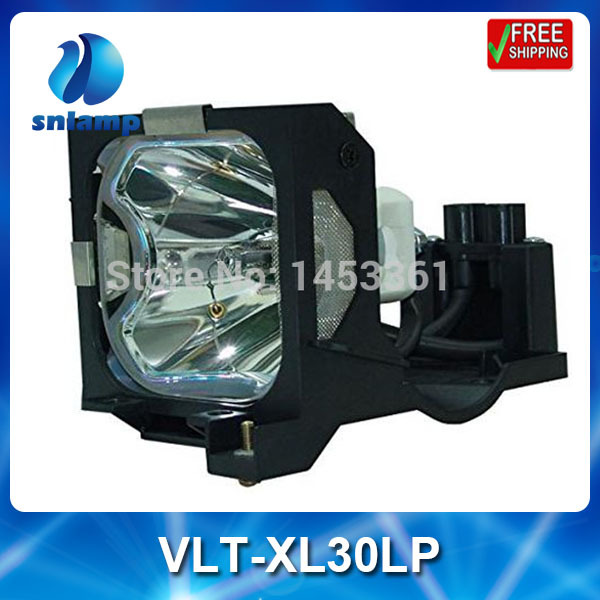 все цены на High quality compatible projector lamp bulb VLT-XL30LP for SL25 XL30 XL25 SL25U XL25U XL30U онлайн
