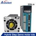 20N.M Hybrid step-servo motor 110J12190EC+drive 3HSS2208H-110 input voltage AC180-250V match With110 serial motor