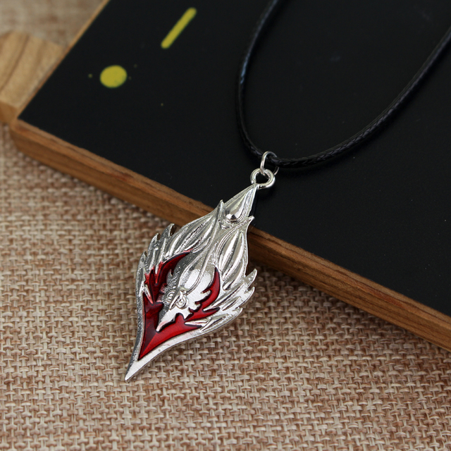 Naruto Konoha Ninja Village Leather Rope Necklace