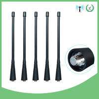 אנטנה עבור 5pcs מכשיר הקשר אנטנה UHF מקציפים 400-470Mhz תואם עבור מוטורולה NAE6483 GP300 GP340 GP360 GP380 CP200 CP200D HT1250 EP450 (1)