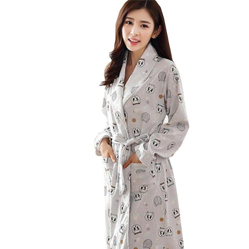 Online Shop New Dressing Gown Bath Robe High Quality Ladies ...