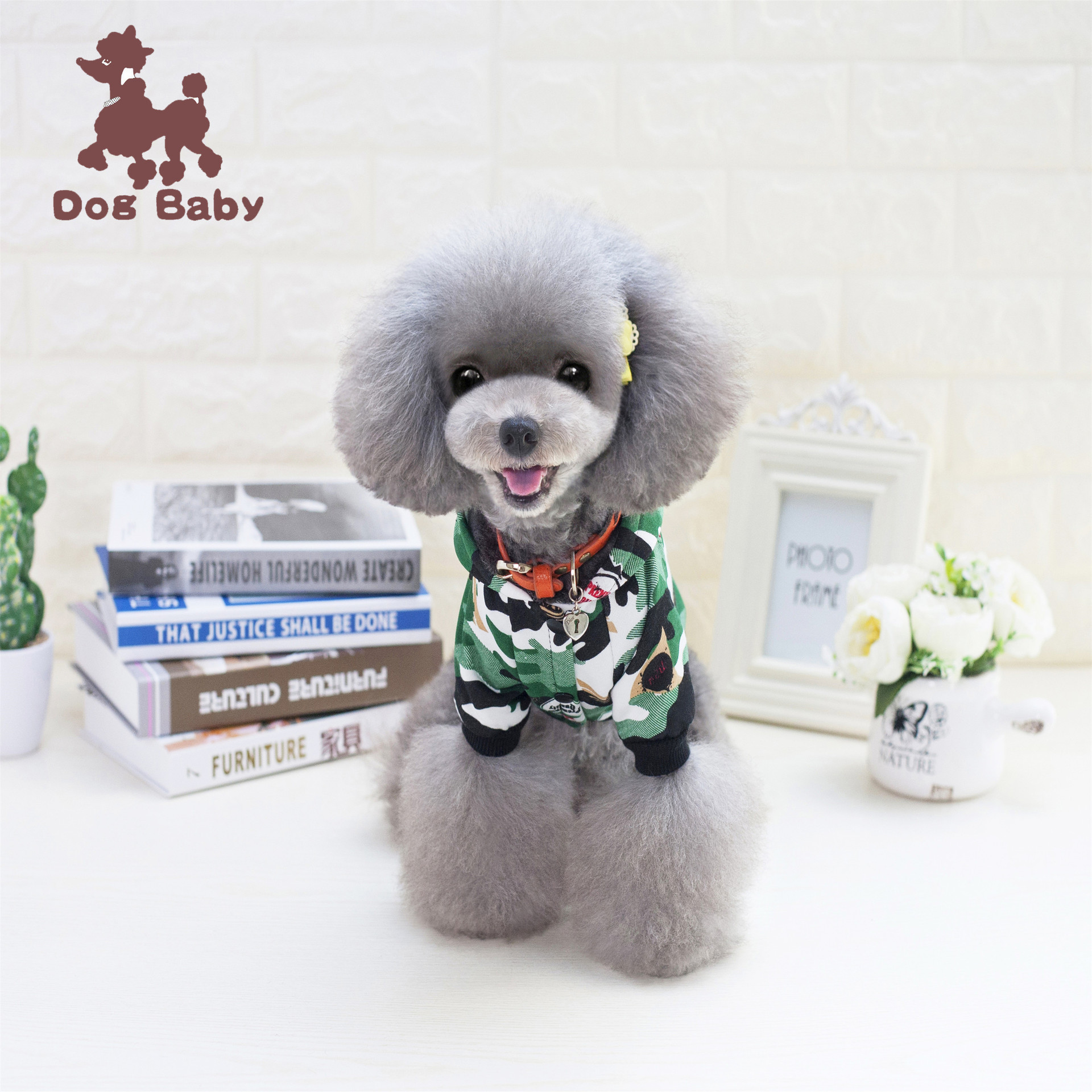 Free shipping 2017 new style Camouflage sweater pet dog clothes