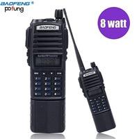 Baofeng UV 82 Plus 8W Powerful 3800mAh Battery Walkie Talkie Dual Band Radio 10KM Long Range Amateur Ham CB radio Portable Radio