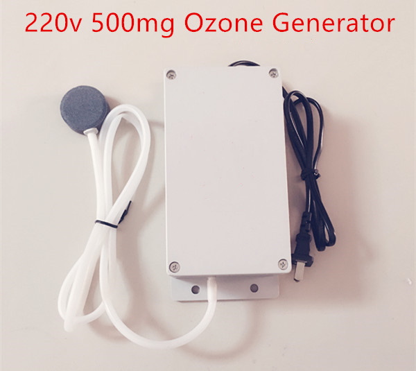 New Ozone Generator 220v 500mg Food Water Air Sterilizer Generator Ozone Water Purifier Ozone Machine  цены