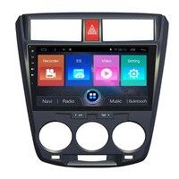Navirider Android 7,1 автомобильный магнитофон четырехъядерный 2 Гб ОЗУ 32 Гб ПЗУ для Honda City 2009 2010 2011 2012 2013 2014