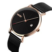 SKMEI New Fashion Top Luxury Brand Sports Watches Men Quartz Ultra Thin dial Clock Sports Military Watch Relogio masculino 9183
