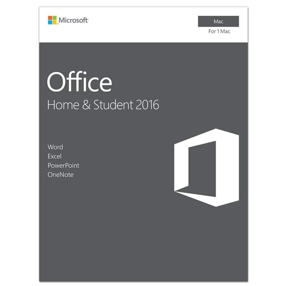 Microsoft Office Home And Student 2016 For Mac License Boxed | 1 User, Product Key Card/Serial Numbers,Support Download(China)