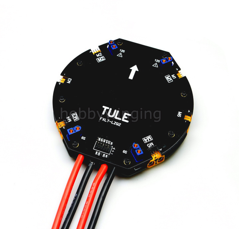 цена Large Current Power Distribution Board PDB Board 12S 480A for Agricultural droneQuadcopter Hexacopter