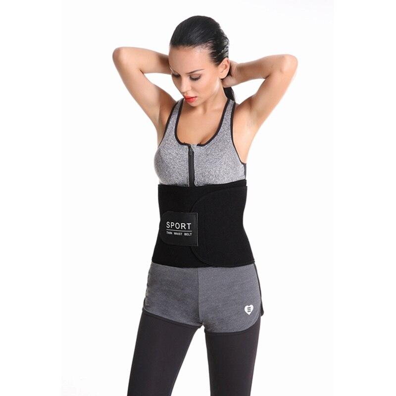7711e29ae7 Adjustable Men Women Neoprene Body Shaper Waist Trainer Belt Sweat Slimming Belt  Slim Fit Waist Shaper Cincher Trimmer Girdle-in Waist Cinchers from ...