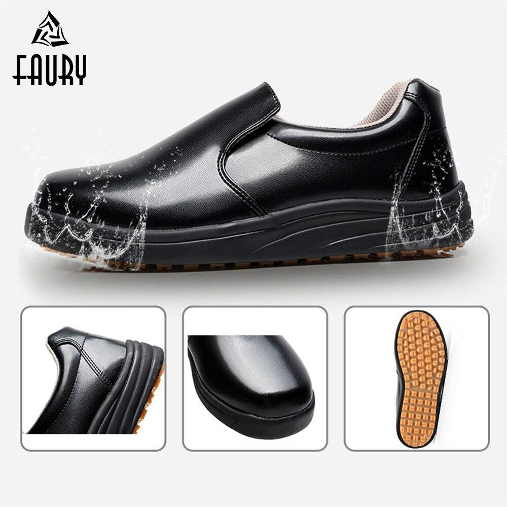 Professional Chef Kitchen Shoes Non slip Waterproof Oil proof Men Women Food Service Hotel Restaurant Cook Men Women Work Shoes