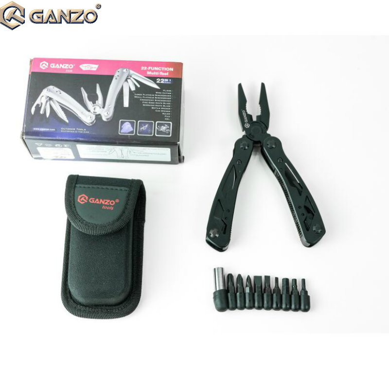 10 Teile/los Ganzo G104 2015pb Multi Zangen Tasche Edc Camping Werkzeug W/nylon Beutel Messer Edelstahl Multi Functional Zangen Zangen Werkzeuge