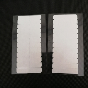 Image 1 - 10 枚 120 個 4 センチメートル * 0.8 センチメートル強力なダブル両面テープステッカースーパーヘアーヘアエクステンションツール