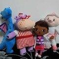 Doc McStuffins Доктор Друг Девушки & Dragon и Овец и Бегемот 30 см Плюшевые Игрушки Фаршированные Куклы Brinquedos Подарок