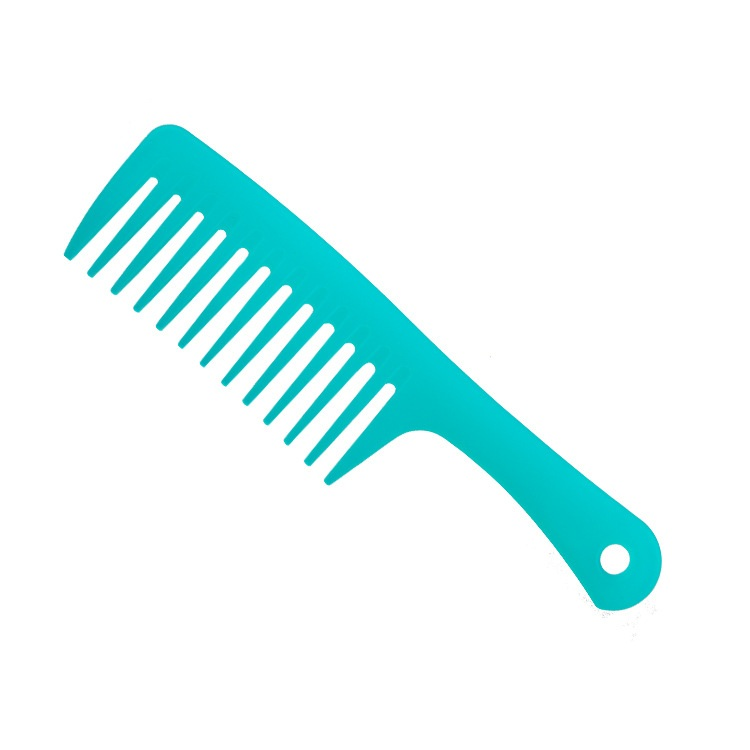 Woman Hair Brush Long Handled Vibrant Colors Shower Comb Gently Detangles Wet Or Dry Distributes Conditioner Evenly Through In Combs From Beauty