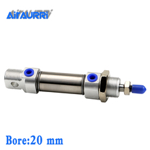 цена на C85N SMC Type Cylinder CD85N C85N 20-25-50-75-100-125-150-175-200-250-300 Mini Pneumatic Cylinder Double Acting CD85N20-80 CD85N