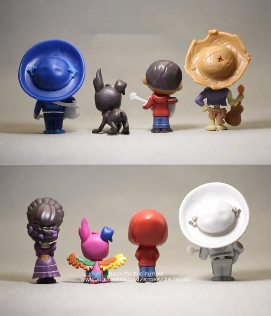 Disney Coco Movie Figures 8pcs/set 6-9cm