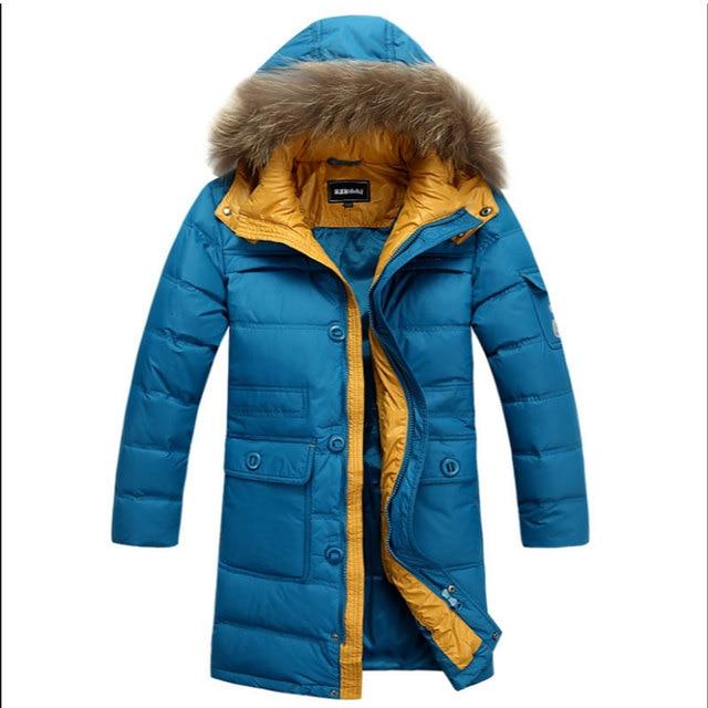 Adolescente ropa de invierno largo abajo chaqueta abrigos chaquetas para  niño chico niños ropa gruesa caliente