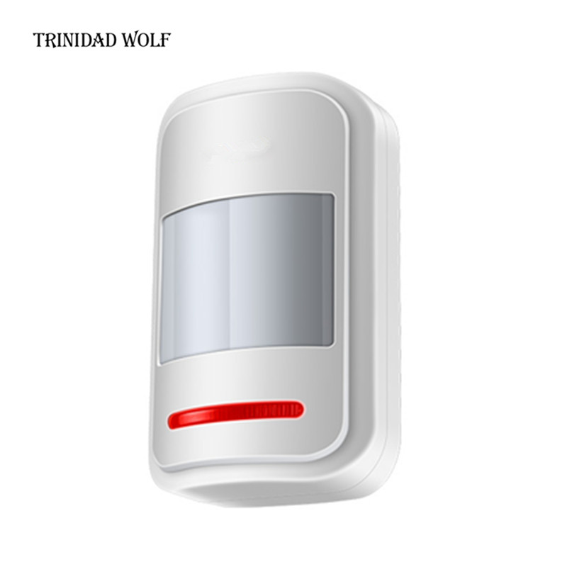 TRINIDAD WOLF Wireless PIR Motion Sensor Detector Touch Keypad Panel GSM PSTN Home House Security Burglar Voice Alarm System цены онлайн