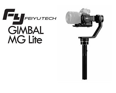 Feiyu FY MG Lite Brushless Handheld Gimbal Stabilizer 3 Axis Gimbal For DSLR SLR Camera wlring oil filter sandwich adaptor for high quality oil filter remote block with thermostat 1xan8 4xan10 orb female wlr6744