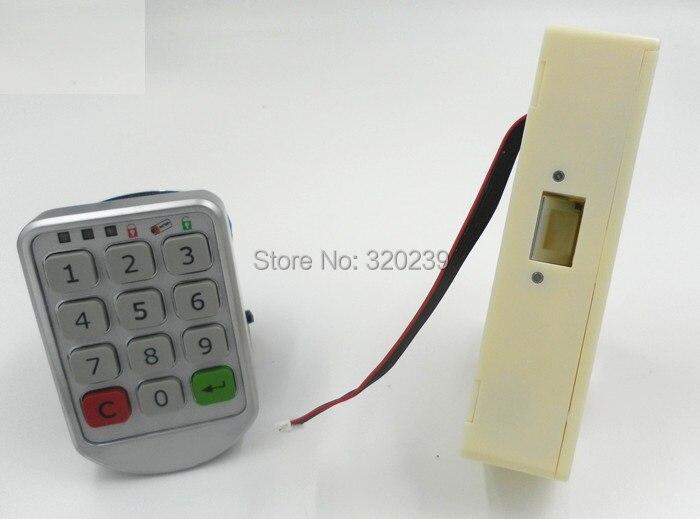 Digitale deurslot voor lockers elektronische toetsenblokkering