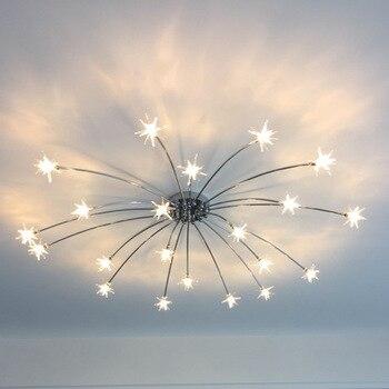 Â�リエイティブシャンデリア天井ベッドルームリビングルームモダンな照明器具 G4 Â�ター天井器具光沢子供のための Led Ã�ーム