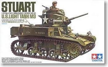 Tamiya 35042 US Light Tank M3 STUART 1 35 scale kit