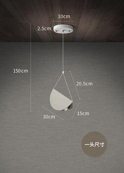 עף מקופל נייר מתכת אוריגמי אמנות ברזל תליון מנורת תליית תאורת השעיה אור קפה אוכל חדר מסעדת מלון בר
