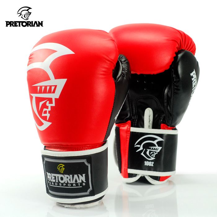 2016 Original Fitness Pretorian PU Leather Muay Thai Boxing Gloves 7 Colors Sanda Professional Fightting Gloves Grant Luva Boxe wholesale pretorian grant boxing gloves kick pads muay thai twins punching pads for men training mma fitness epuipment sparring