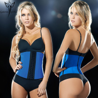 Women Slimming Body Shaper Ann Chery Waist Trainer Corset Top Latex Waist Cincher 9 Steel Bones