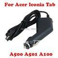 Novo carregador de carro 12 V para Acer Iconia Tab A500 A501 A100