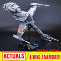 2016 New LEPIN 05045 1487Pcs Star War B-Wing Starfighter Model Building Kits  Blocks Bricks Compatible Toys Gift 10277