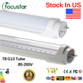 Stock in US+CE RoHS FCC UL 22W T8 Led Tube Lamp1200mm G13 base Led Bulbs SMD 2835 85-265V led Lighting lamp 2 years warranty