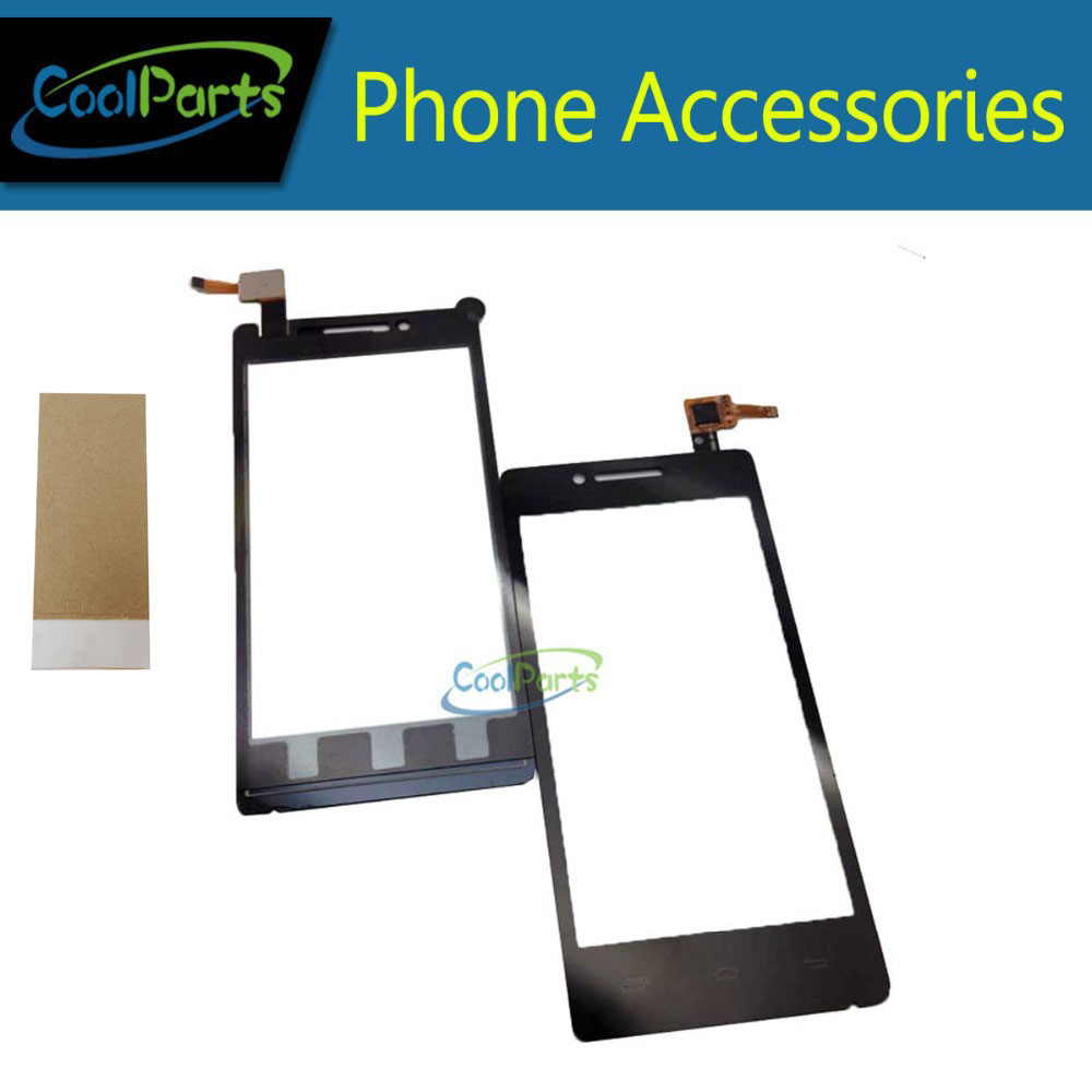 1PC/Lot High Quality 4.5Inch For Prestigio PAP 5450 Touch Screen Digitizer Touch Panel Lens Glass With Tape&Tape Black Color