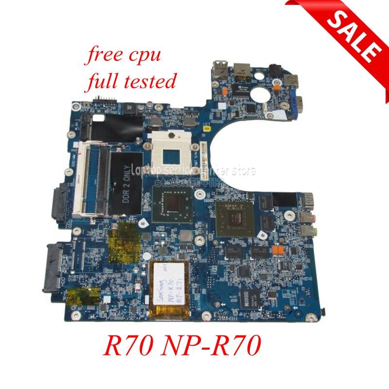 NOKOTION материнская плата для ноутбука Samsung r70 np-r70 ba92-04804a основная GeForce 8600 м Бесплатная Процессор полный тестирование