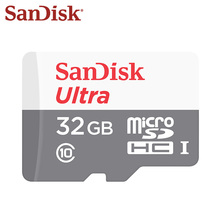 SANDISK ULTRA Micro SD Card 8GB 32GB UHS-I Class 10 Memory Cards microSDHC TF Card for And