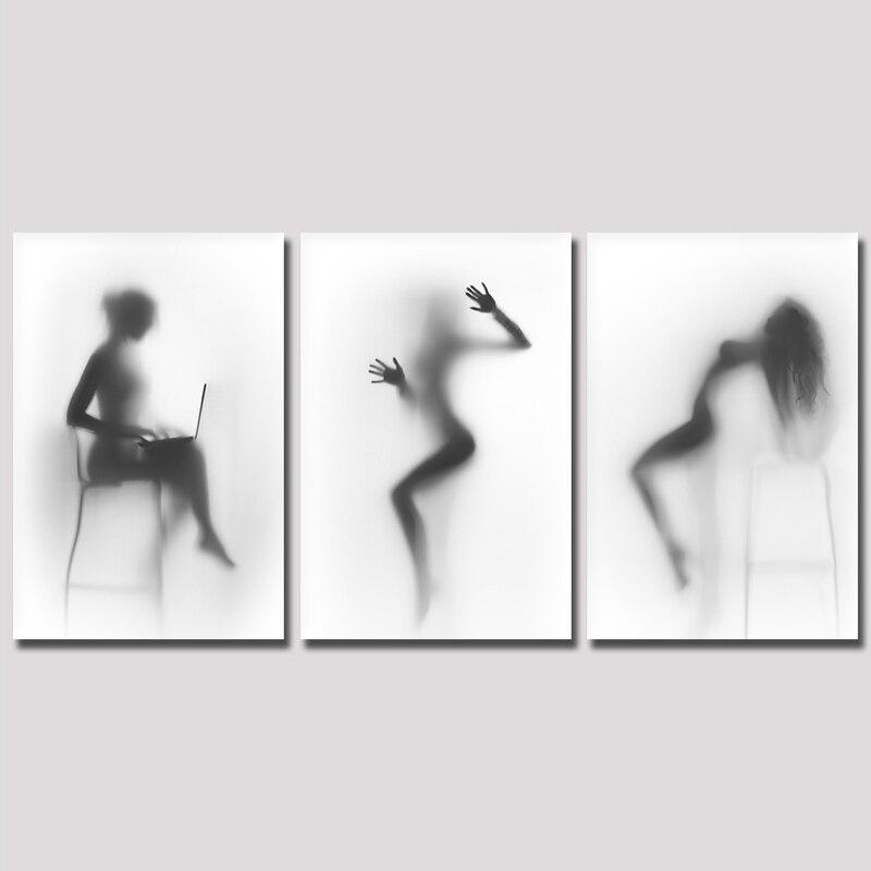 Nero donne nude modelli